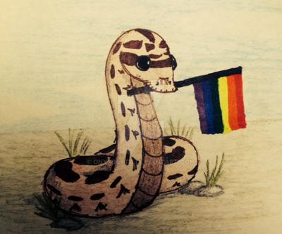 Homosexual Hognose by OnyxBetta