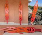 Tahu Flamesword Gen1 (3D print)