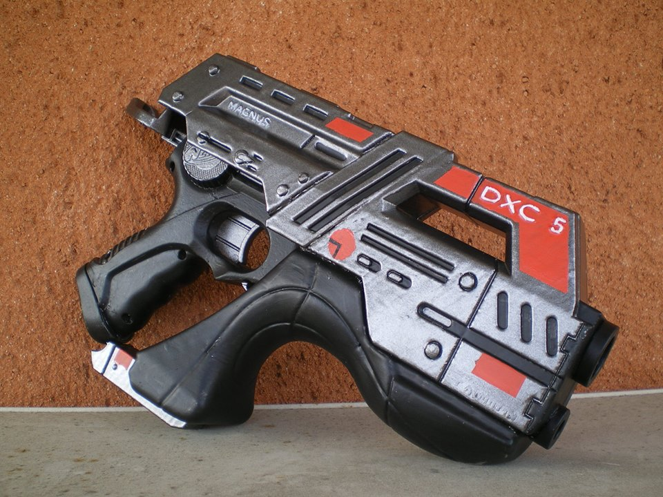 Nerf Mod : Mass Effect Nitefinder (3D print) by vahki6 ...