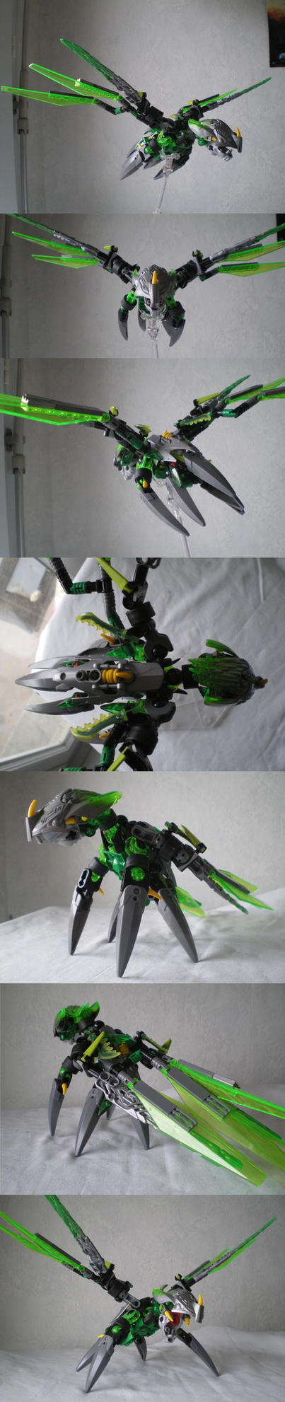 MOC : Uxar, creature of the Jungle by vahki6