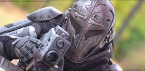 Black Armor close-up