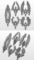 3D work : Staves concepts by vahki6