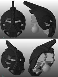 3D work : Great Mangai Kanohi Rode by vahki6