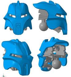3D work : Kanohi Artamu, mask of Adaptation by vahki6