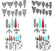 3D work : Modular Tools Initiative by vahki6