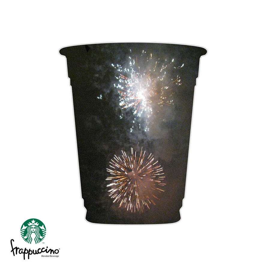 Fireworks Frappuccino by Nin-Nekokat