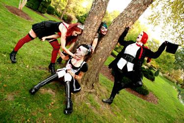 Alice in Wonderland for Bloody Messy Girls by xXxHecatexXx
