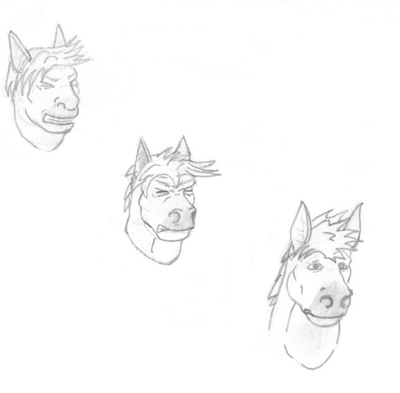 The gallery for --> Horse Transformation Sequence