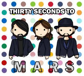 30 Seconds to Mars by koy-kartoon