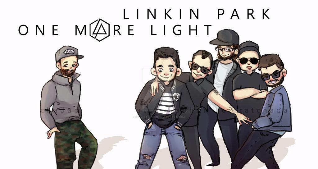 One More Light : Linkin Park by koy-kartoon