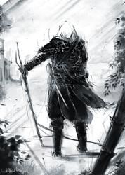 Exiled Murderer, Newborn Hero by GodOfBadWeather