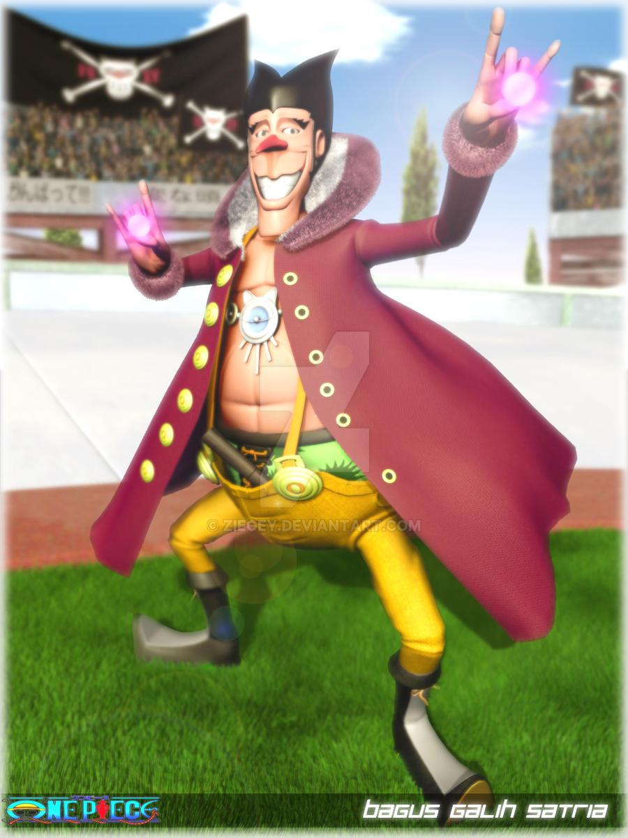 One Piece Fanart Foxy Oyabun (Foxy Pirates) by ziegey on DeviantArt