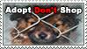 Adopt Don't Shop Stamp by xXRoconzaXx