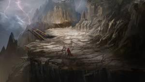 Trail to Mount Kred-adun