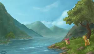 Riverside by EmeraldGalaxy