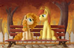 Pear Butter and Bright Macintosh