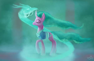 [Legends of Magic] Mistmane by EmeraldGalaxy