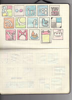 Hand drawn social media icons2 by rafiki270