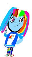 Rainbow Dash(Cringe)