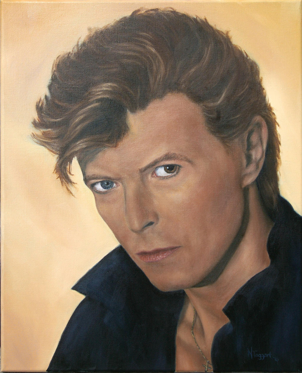 David Bowie by Coi-kins