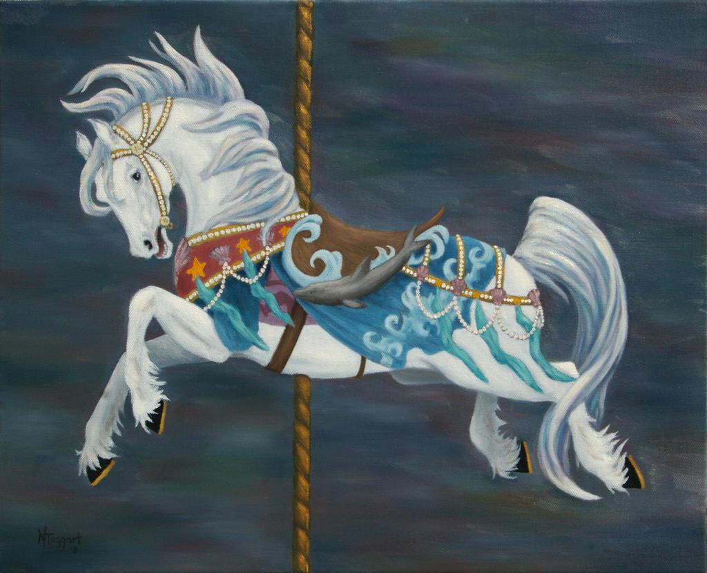 Carousel Horse by nicoletaggart