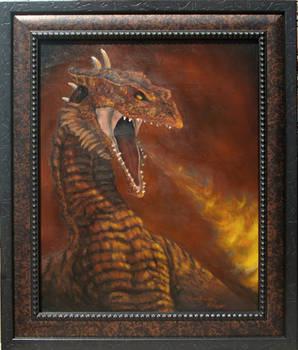 Vermithrax (framed)