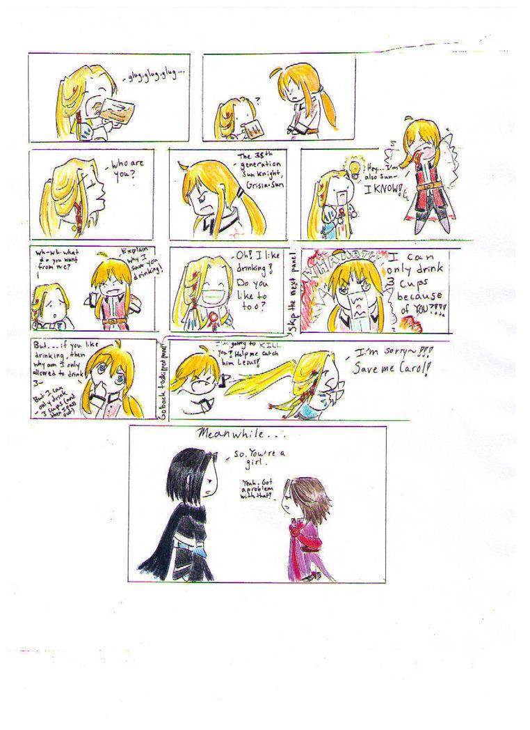The Knights Meet by larka1121