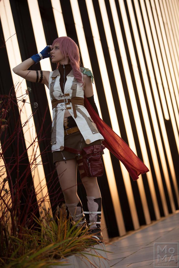 Claire Lightning Farron by Shiru-Mahoono