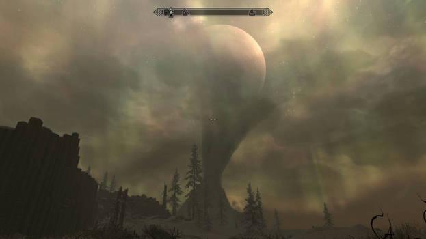 Moon upper mountain l The Elder Scrolls V: Skyrim