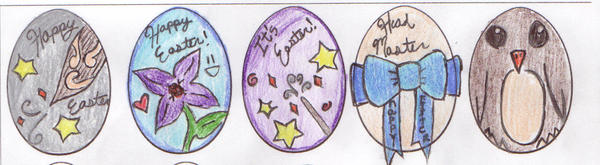Easter Eggs by WickedlyxInsane