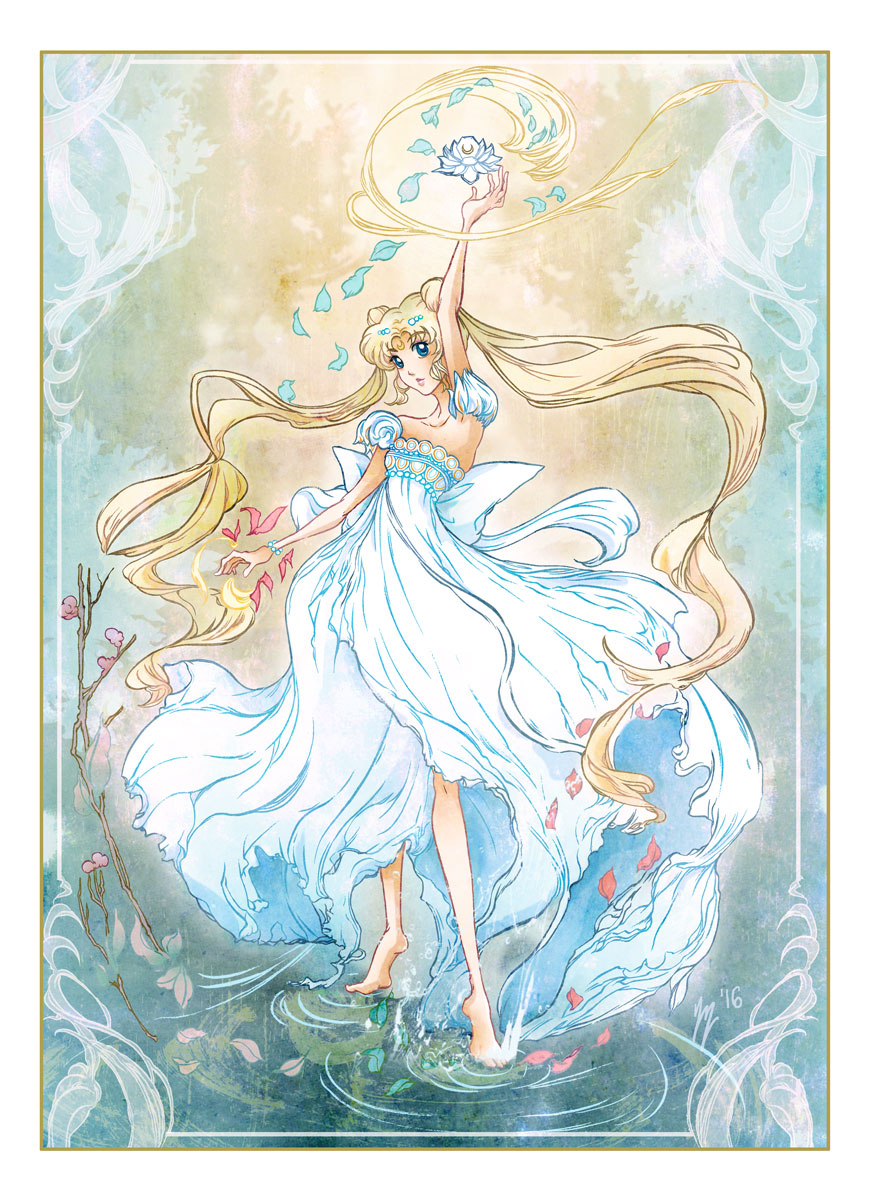 princess serenity from sailor moon by yienyien on deviantart