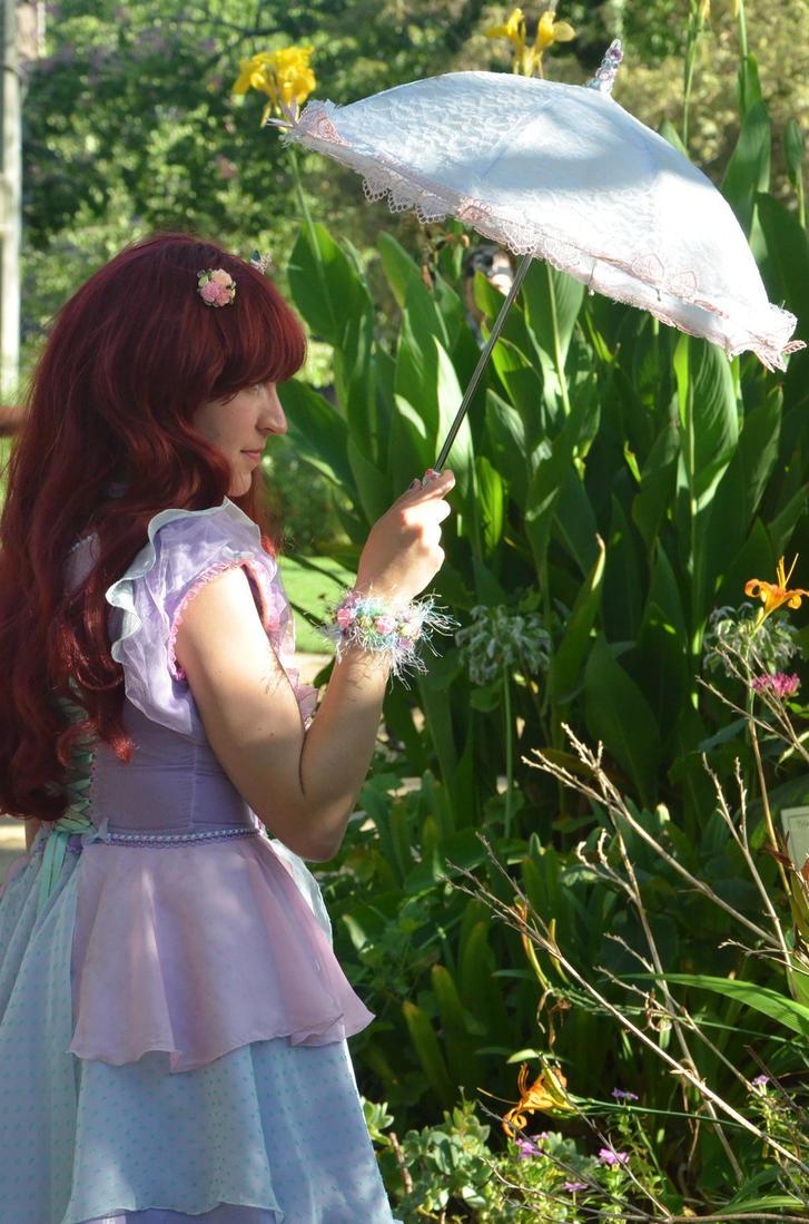 Garden Flower by saxartist05