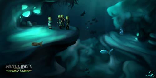 Underwater (Minecraft: Story Mode 2)