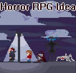 Minimal Horror RPG Idea by Maxcreed122