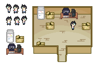 Minimal 8 bits Rpg Practice by Maxcreed122