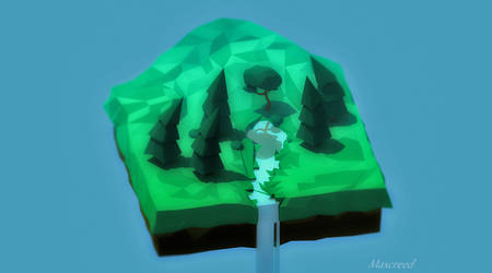 First isometric landscape by Maxcreed122