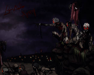 Ghoul army - Concept art by Maxcreed122