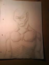 some pencil alien zombie