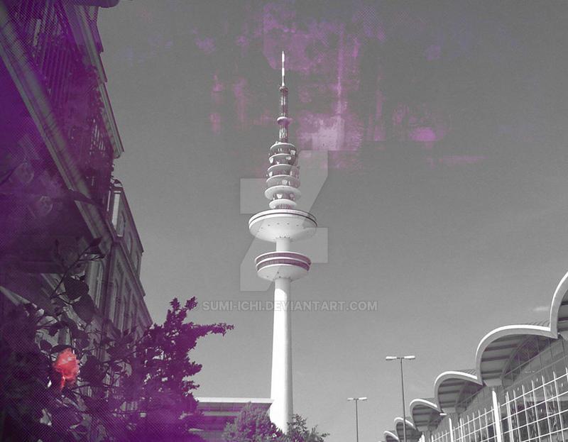 Television tower cum rose by Sumi-Ichi