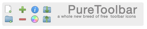 PureToolbar Icons -Preview 1- by jpeele