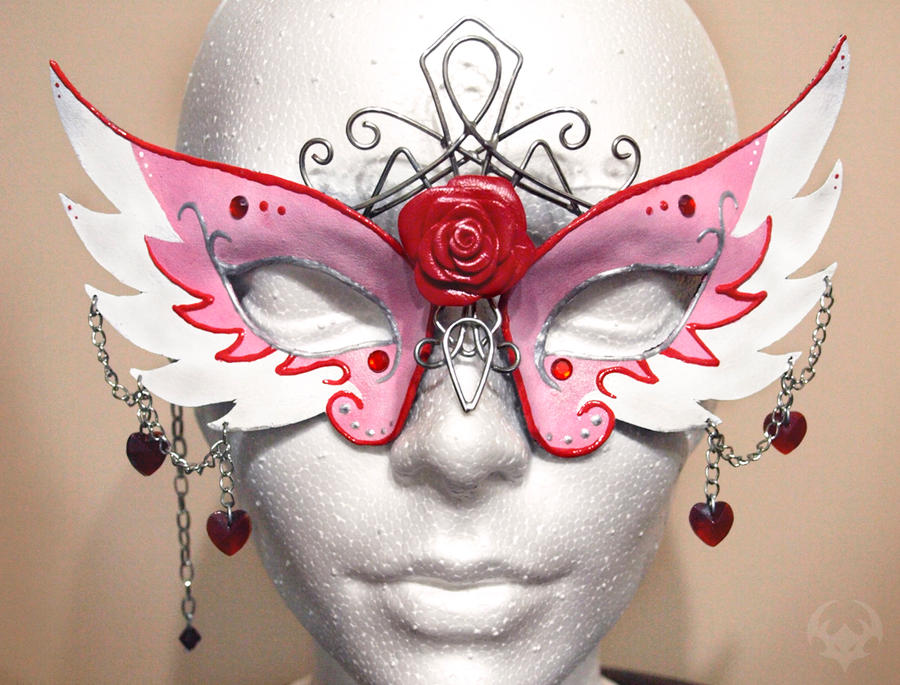 princess-style masquerade mask by Spiked-Fox on DeviantArt