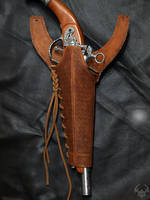 Albus' gun holster by Spiked-Fox
