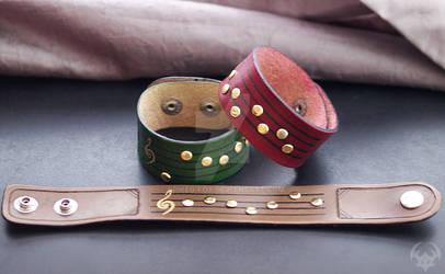 Zelda Ocarina Songs Wristbands