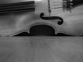 Cello on the Floor by Kiri-aki