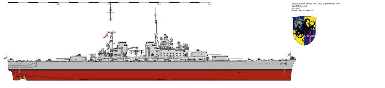 Leviathan Class Battlecruiser HMS Behemoth