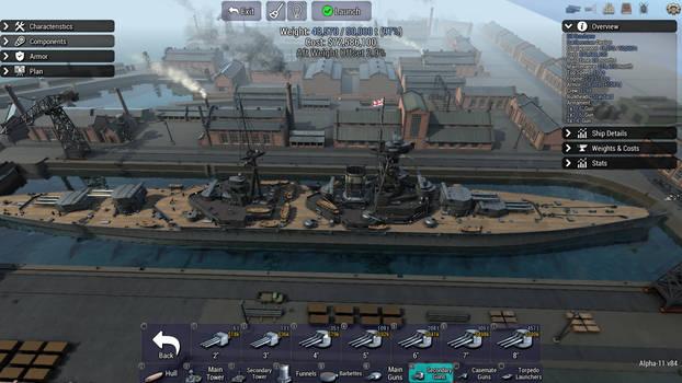 Cochrane Class Battlecruiser HMS Cochrane
