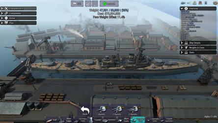 Fearless Class Battlecruisers HMS Defiant