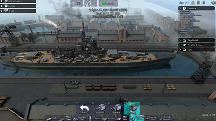 Constitution Class Battlecruisers USS Constitution