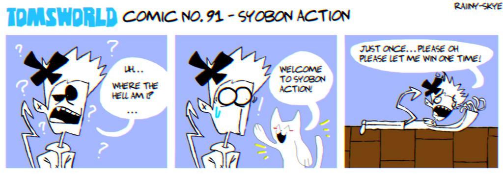 TWComic No. 91 - Syobon Action by RAIINY-SKYE