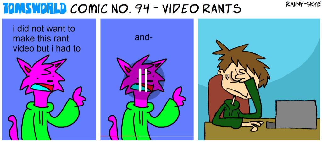 TWComic No. 94 - Video Rants by RAIINY-SKYE